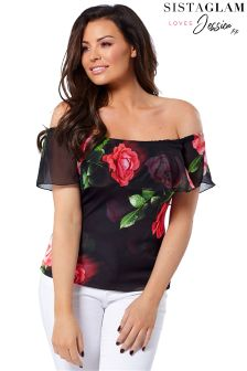 Jessica Wright Floral Top