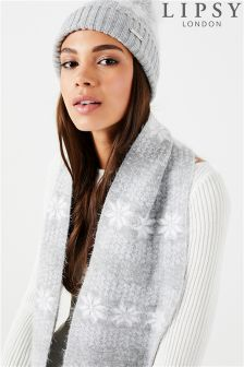 Lipsy Fairisle Hat