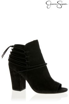 Jessica Simpson Peep Toe Ankle Boot