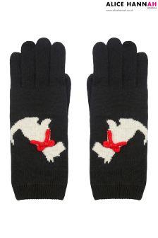 Alice Hannah Monochrome Gloves