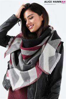 Alice Hannah Knitted Shawl
