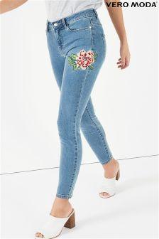 Vero Moda Embroidered Jeans