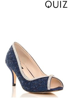 Quiz Peep-toe Court Heels