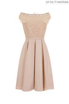 Koronkowa sukienka bardot Little Mistress
