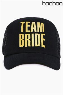 Boohoo Team Bride Baseball Cap