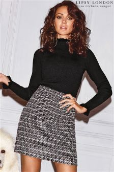Lipsy Love Michelle Keegan Boucle Dress