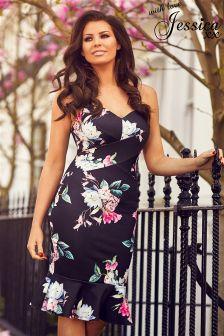 Jessica Wright Floral Strappy Bodycon Dress