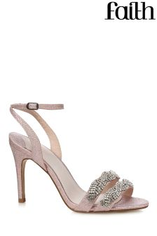 Faith Embellished Two Part Sandals
