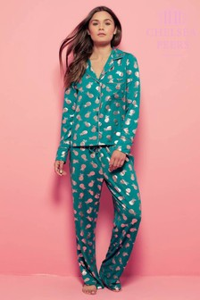 Chelsea Peers Pineapple Shirt PJ Set