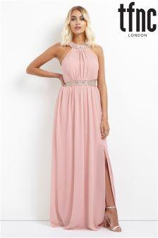 Zdobiona sukienka maxi tfnc