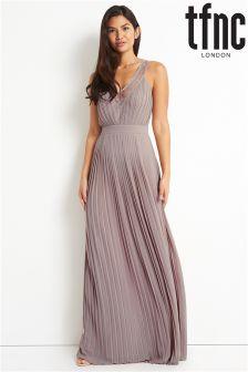 tfnc Front V Maxi Dress