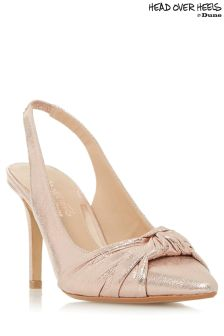 Head Over Heels Slingback Court Heels