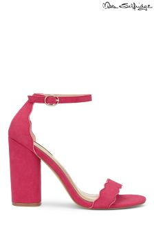 Miss Selfridge Scalloped Sandals