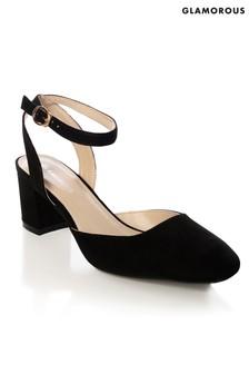 Glamorous Low Heel Courts