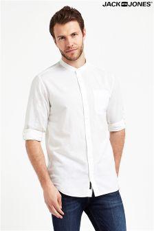 Jack & Jones Premium Summer Band Linen Shirt