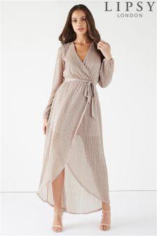 Lipsy Lurex Maxi Dress