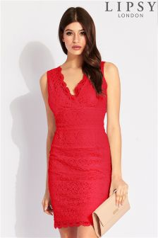 Lipsy All Over Lace Bodycon Dress