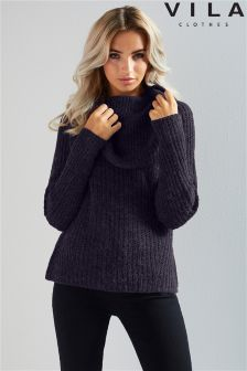 Vila Cowl Neck Jumper