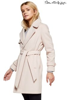 Miss Selfridge Petite Wrap Coat