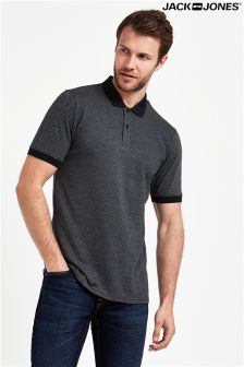 Jack & Jones Premium Jacquard Short Sleeve Polo