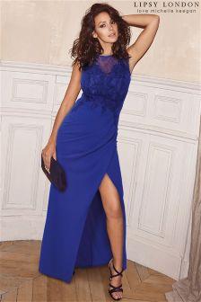 Платье макси с кружевной аппликацией Lipsy Love Michelle Keegan