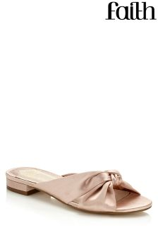 Faith Bow Mules