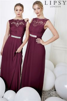 Lipsy Jasmine Jewel Embellished Maxi Dress