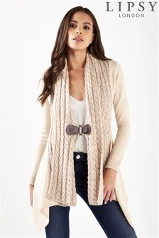 Lipsy Multi Cable Buckle Cardigan