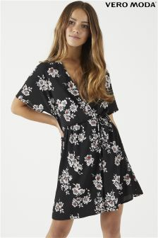 Vero Moda Petite Wrap Dress