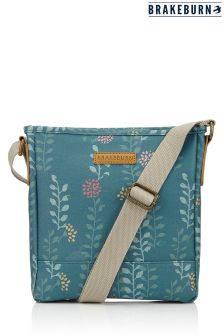 Brakeburn Leaf Print Cross Body Bag