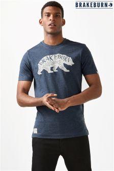 Brakeburn Bear Print T-Shirt