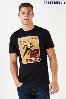 Koszulka Brakeburn z plakatem rowerowym