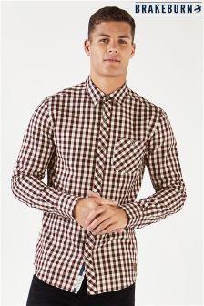 Brakeburn Gingham Flannel Long Sleeve Shirt