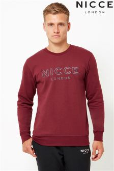 NICCE Sweatshirt With Embroidered Logo