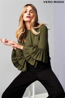 Marszczona bluzka Vero Moda