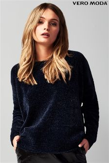 Vero Moda Long Sleeve Chenille Jumper