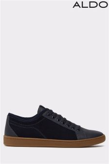 Aldo Lace Up Leather Trainers