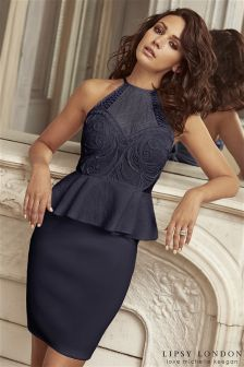 Sukienka bodycon peplum Lipsy Loves Michelle Keegan Cornelli