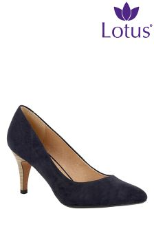 Lotus Stiletto Court Shoes