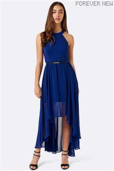 Forever New Indianan Dip Hem Midi Dress