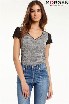Morgan V neck T-Shirt