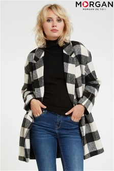 Morgan Checked Coat