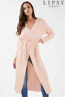 Lipsy Waterfall Jacket With Tie