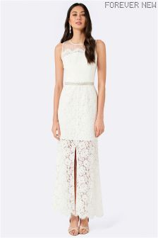 Forever New Lace Spliced Dress