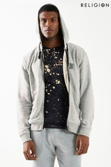 Religion Zip Hoody