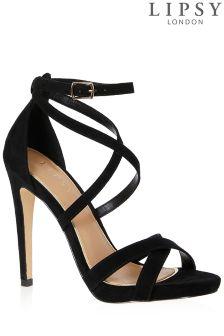 Lipsy Slim Platform Strappy Sandals