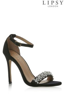 Lipsy Pearl Barely There Sandals
