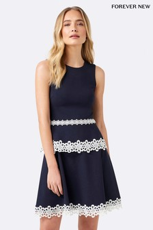 Forever New Lace Mini 2 In 1 Dress