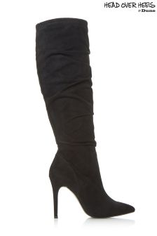 Head Over Heels Point Ruched Boots