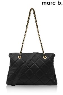Marc B Kiss Frame Quilted Shoulder Bag